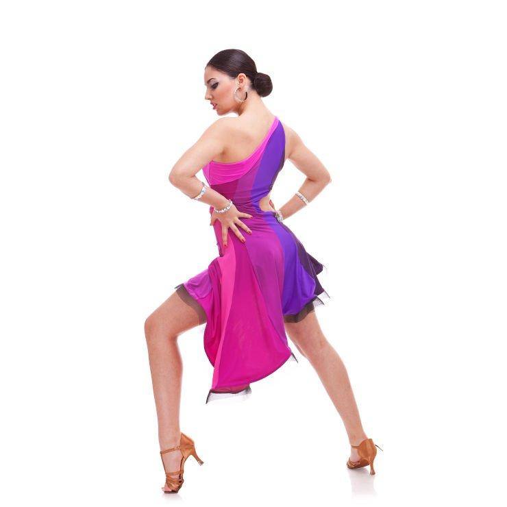 Kobieta tańczący Salsa LA On 1