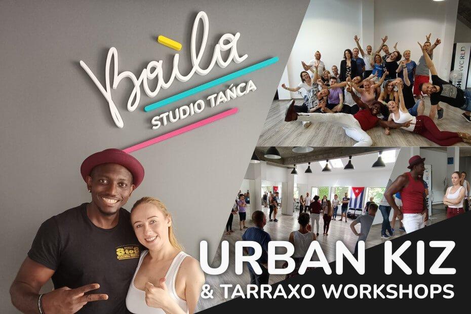 Romeo Steph oraz Kasia Moric, poprowadzili warsztaty Urban Kiz & Tarraxo w naszym studio